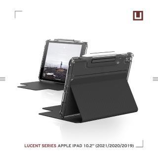 【UAG】(U)iPad 10.2吋耐衝擊亮透保護殼-黑(U by UAG)