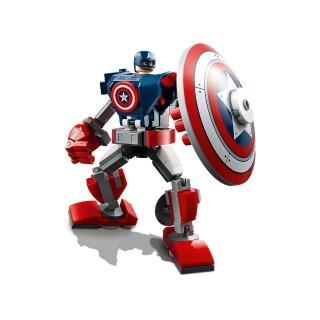 【LEGO 樂高】Marvel超級英雄系列 Captain America Mech Armor 76168 漫威 美國隊長(76168)