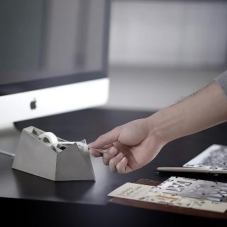 【urban prefer】FOLDED PAPER 水泥紙船膠帶台(膠台/膠帶/水泥/膠帶台)