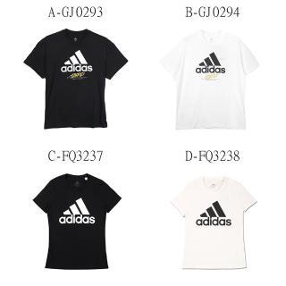 【adidas 愛迪達】男女TAIPEI JOCKTAG 基本款 圓領短T A-GJ0293 B-GJ0294 C-FQ3237 D-FQ3238