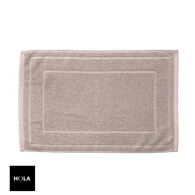 【HOLA】葡萄牙純棉緹花毛巾踏墊40x60cm