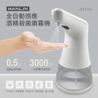 【HANLIN】ATPW全自動感應殺菌淨手噴霧機/