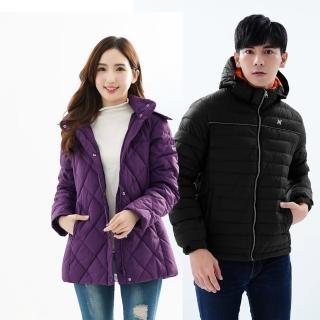 【遊遍天下】男女款防風防潑禦寒羽絨外套(M-5L)
