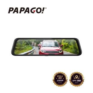 【PAPAGO!】Ray CP Plus 1080P前後雙錄電子後視鏡行車紀錄器(GPS測速/超廣角)