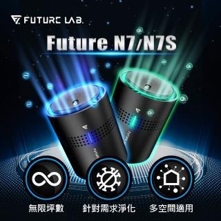 【Future Lab. 未來實驗室】N7空氣清淨機+N7S空氣淨化機(車用清淨機 負離子 家用車用空氣清淨機)