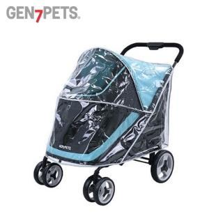 【Gen7pets】推車用雨罩D〈加購價〉(大型寵物推車適用)