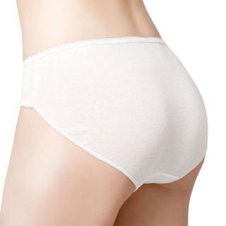 【Wacoal 華歌爾】伴遊-淑女用M-XL純棉免洗內褲 YS0001SW(4件組)