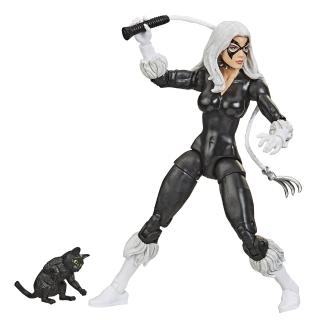 【Marvel 漫威】傳奇系列(6吋人物組 蜘蛛人系列 BLACK CAT F0864)