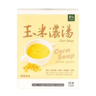 【里仁】玉米濃湯110g