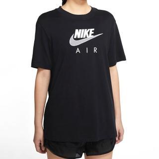 【NIKE 耐吉】上衣 女款 短袖上衣 運動 慢跑 訓練 AS W NSW AIR BF TOP 黑 CZ8615-010