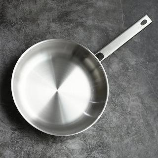 【ZWILLING 德國雙人】Joy不鏽鋼平底鍋/平煎鍋-24cm(無蓋)