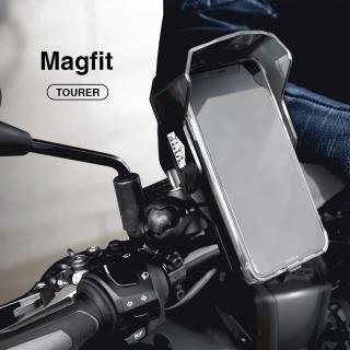 【Magfit魔吸】全球第一款摩托車/自行車用強力磁吸充電手機架(磁吸固定