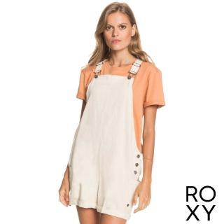 【ROXY】女款 女裝 吊帶短褲 LOW RISING(米色)