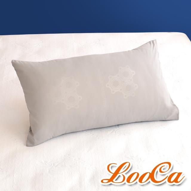 【LooCa】特濃石墨烯遠紅外線枕套(2入)/