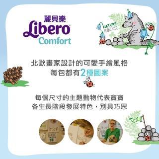【麗貝樂】Comfort 黏貼型 嬰兒尿布/紙尿褲 新生兒2號(NB-2 34片x6包/箱購)