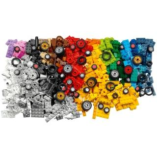 【LEGO 樂高】經典套裝 顆粒與輪子 11014 積木 模型(11014)