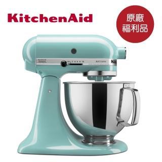 【KitchenAid】福利品 4.8公升/5Q桌上型攪拌機(湖水藍)