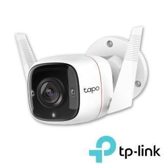 (64G記憶卡組)【TP-Link】Tapo C310 3MP高解析度 戶外防水 WiFi無線智慧高清網路攝影機(Wi-Fi無線攝影機)