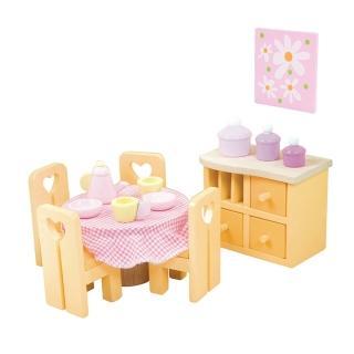 【LE TOY VAN】夢幻娃娃屋配件系列-Sugar Plum 現代休閒風系列 - 餐廳(ME049)