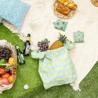 【生活工場】【618品牌週】Fruit可折收購物袋
