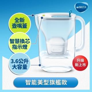 【BRITA】Style XL純淨濾水壺+2入全效型濾芯(共3芯)