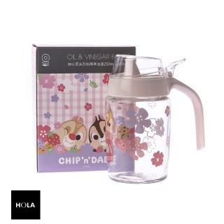 【HOLA】迪士尼系列粉萌季油壺250ml-奇奇蒂蒂