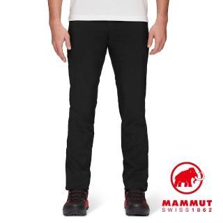 【Mammut 長毛象】Runbold Light Pants Men 輕量彈性健行長褲 黑色 男款 #1022-01310