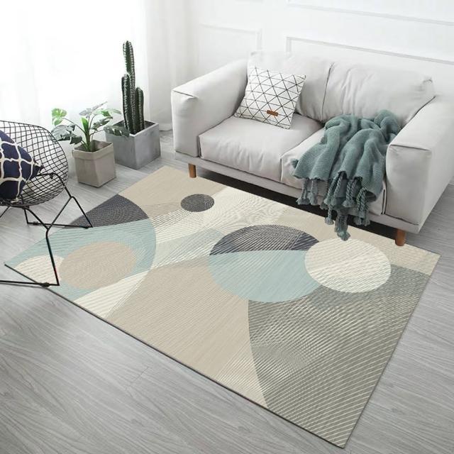 【西格傢飾】北歐水晶絨地毯(多款任選)/