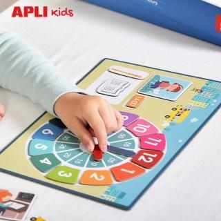 【APLI】對的時間做對的事(認識時鐘及作息的桌遊遊戲)