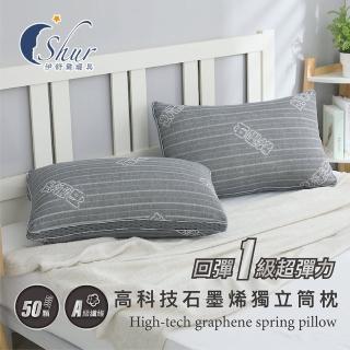 【加價購】多款機能獨立筒枕(台灣製造/防蹣抗菌)