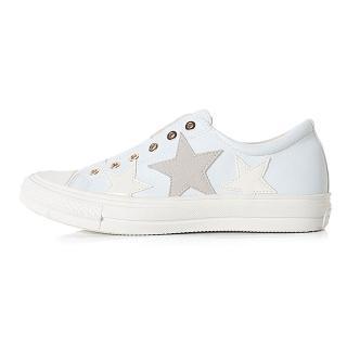 【HIKOREA】韓國空運/版型偏小。溫柔日常立體星星星星免綁帶/小白鞋/休閒鞋(71-3225二色/現貨+預購)