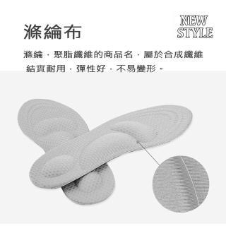 【MAGIC SHOE PAD】CC044除臭吸汗4D網格減震鞋墊(高跟鞋軟底抗壓緩痛全墊)