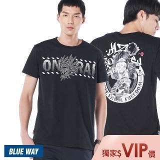 【BLUE WAY】鬼洗 地藏小王經典短TEE_6款選