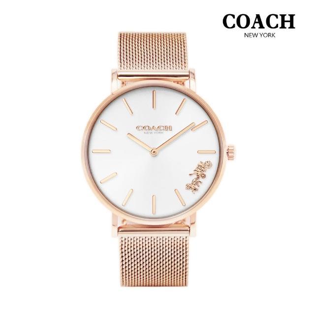 【COACH】優雅經典馬車米蘭女錶(共3款)