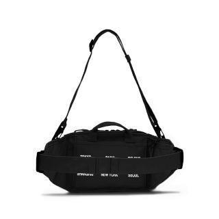 【NIKE 耐吉】腰包 斜背包 小包 慢跑 運動包 NK RPM SMIT - WRLD TR 黑 DH3079-010