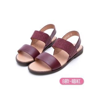 【LA NEW】輕量真皮氣墊涼鞋(女/8款)