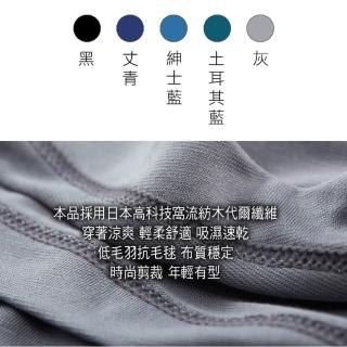 【PLAYBOY】日本窩流枋莫代爾零著感男內衣3件組(背心/圓領短袖/V領短袖 多色任選 台灣製造)