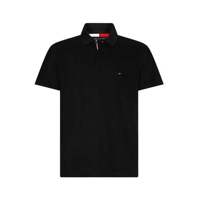 【Tommy Hilfiger】經典大小LOGO POLO衫(正常版型多色可選)