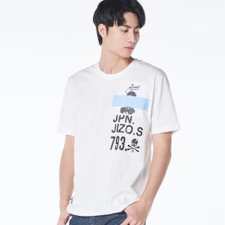 【BLUE WAY】織帶遮地藏短TEE-地藏小王