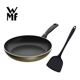 【德國WMF】PERMADUR義大利製不沾平底煎鍋28cm(贈矽膠耐熱鍋鏟)