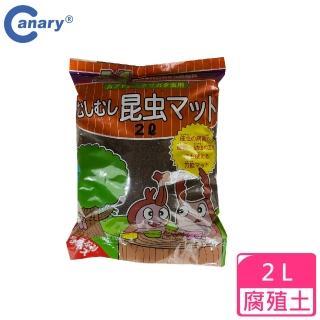 【Canary】Animan 甲蟲腐殖土 2L(甲蟲 鍬型蟲 腐植土 吃土 爬蟲類 營養土)