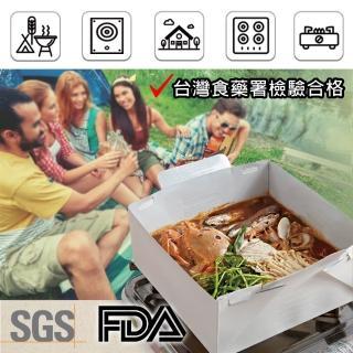 【BESTHOT】韓國原裝進口新食代免洗紙鍋-3000cc(無毒無汙染紙火鍋 SGS FDA認證)