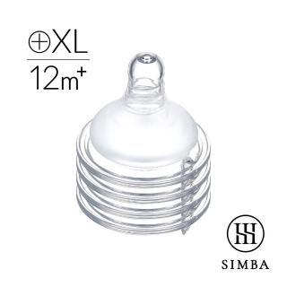 【Simba 小獅王辛巴】超柔防脹氣寬口十字奶嘴-4入(S/M/L/XL)