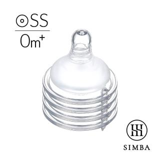 【Simba 小獅王辛巴】超柔防脹氣寬口圓孔奶嘴-4入(SS/S/M/L)