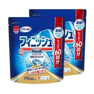 【FINISH】洗碗機專用洗碗錠-60錠*2入