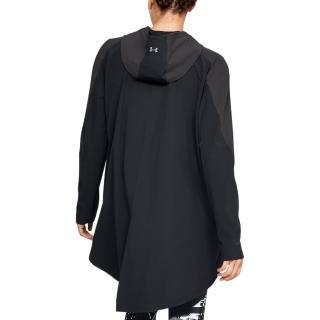 【UNDER ARMOUR】UA 女 Storm防潑水套頭風衣_1317852-001(黑)