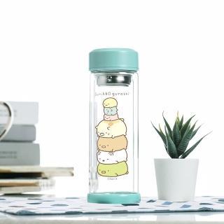 【角落小夥伴】疊在一起 雙層玻璃杯