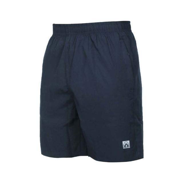 【FIRESTAR】男彈性平織短褲-五分褲