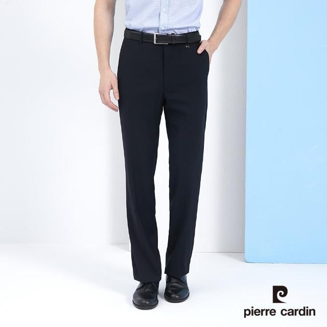 【pierre cardin 皮爾卡登】商務休閒 男款 舒適彈性清涼透氣西裝褲(多款任選)
