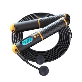 【PUSH!】PUSH!運動用品電子智能計數兩用有繩無繩負重跳繩運動健身燃脂(跳繩H36)